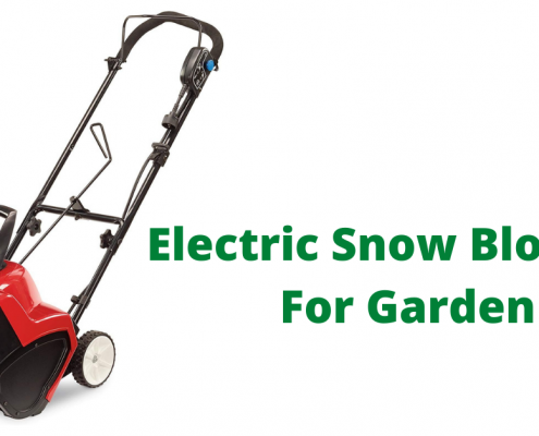 Electric Snow Blowers For Garden