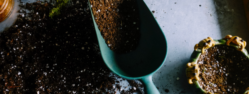how to prepare soil for container gardening